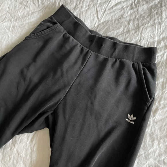 Adidas Black Trackpants